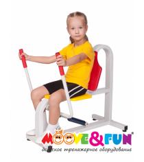 Детский тренажер Жим от груди MF-E06 Moove&Fun