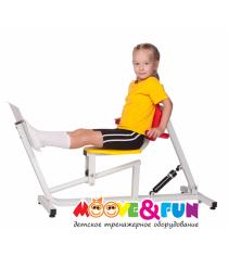 Детский тренажер Жим ногами MF-E07 Moove&Fun