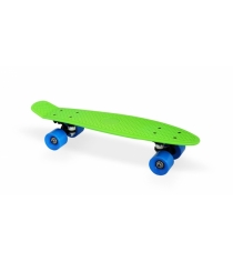 Скейт пластиковый 22х6 дюймов зеленый PP2206-1 green Moove&Fun