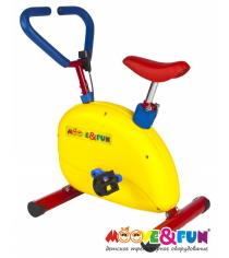 Детский велотренажер SH-002W Moove&Fun