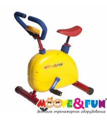 Детский велотренажер SH-02C Moove&Fun