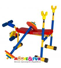 Детская скамья для жима со штангой SH-06 Moove&Fun