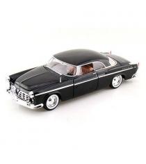Коллекционная модель chrysler c300 1955 черная 1 24 Motormax 73302AC