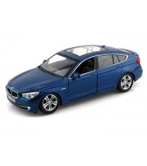 Коллекционная модель bmw 5 series gt 2010 синяя 1 24 Motormax 73352