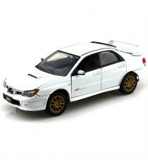 Motormax Subaru Impreza WRX STI в масштабе 1:24 белая