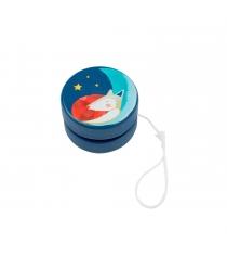 Деревянная игрушка йо йо синий Moulin Roty 659307
