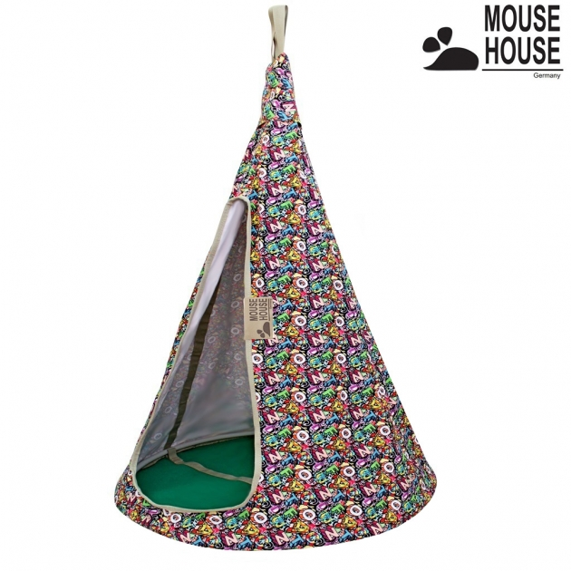 Гамак Mouse house буквы разноцветные диаметр 80 см 6593