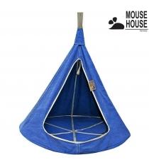 Гамак Mouse house джинс темный диаметр 140 см 6606