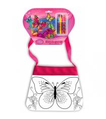 Сумочка для росписи бабочки Multi Art ST-1506-BTF
