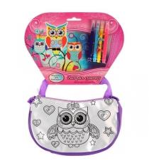 Сумочка для росписи совушки Multi Art ST-027-OWL