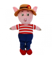 Мягкая игрушка Поросенок 26 см в костюме и шляпе Мульти Пульти F9454-26A