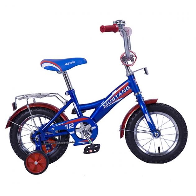 Детский велосипед 12 Mustang gw-тип синий/красный