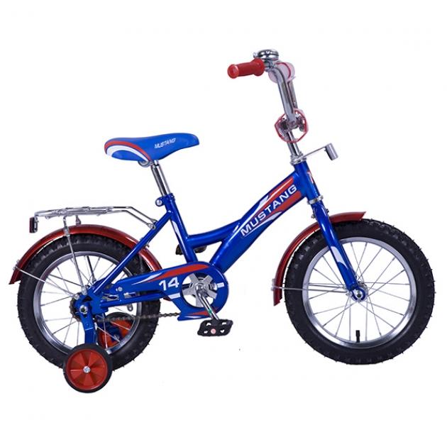Детский велосипед 14 Mustang 14 gw-тип синий/красный