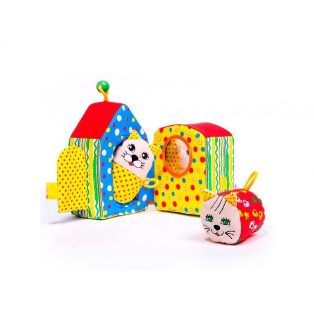Мягкая игрушка кошкин дом Мякиши Р24942
