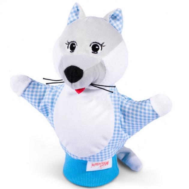 Игрушка рукавичка волк Мякиши Р25718