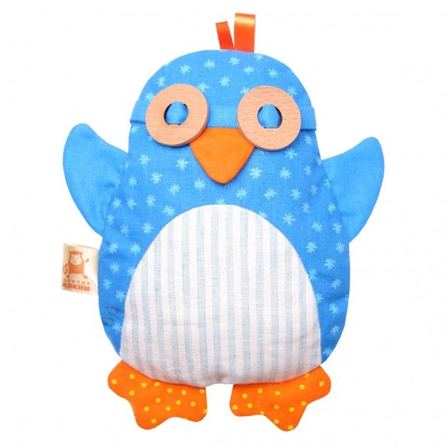 Игрушка доктор мякиш пингвин с вишневыми косточками Мякиши Р78137