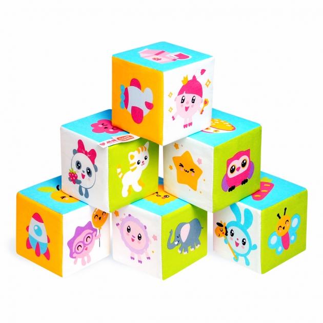 Мягкие кубики малышарики предметики Мякиши Р92434