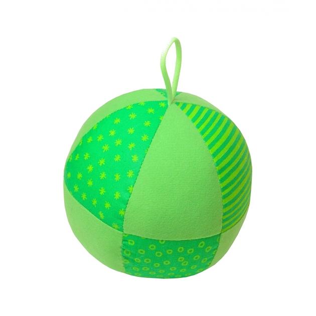 Игрушка веселый мячик зеленая Мякиши Р78139