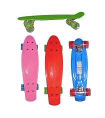 Детский скейтборд со светящимися колесами Navigator Т59496