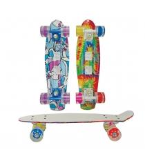 Детский скейтборд Navigator светятся колеса Т59501