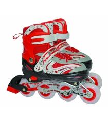 Роликовые коньки Navigator Power Superb светятся колеса красные р 30-33 Т59724