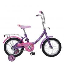 Детский велосипед basic фиолетово розовый Navigator ВН14060