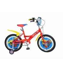 Двухколесный велосипед super hero girls со страховочными колесами Navigator ВН18079