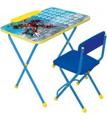 Набор детской мебели мстители азбука Ника Д2А