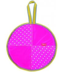 Ледянка Nika Л40 горошек на розовом
