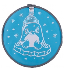 Ледянка Nika Л40 с пингвином голубой
