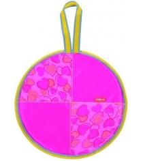 Ледянка Nika Л40 с сердечками розовый