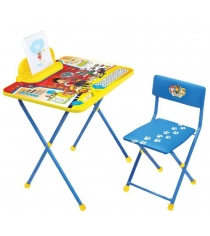 Комплект детской мебели щенячий патруль Ника Щ2