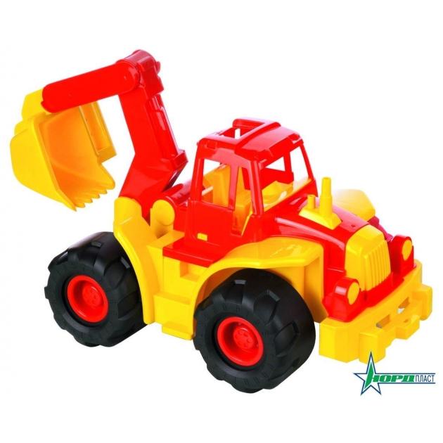 Трактор богатырь с ковшом Нордпласт Р12795