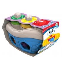Дидактическая игрушка кораблик Нордпласт 1300