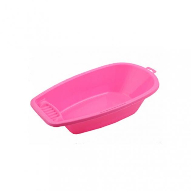 Малая ванна для кукол розовая Нордпласт Р28585