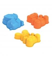 Формочки для песка зайка медведь слоник Нордпласт 170H