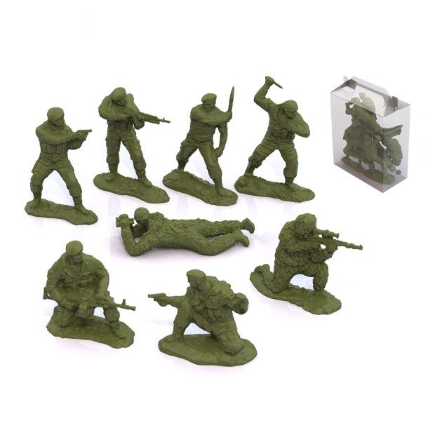 Набор солдаты вдв россии 8 шт Нордпласт Р78453