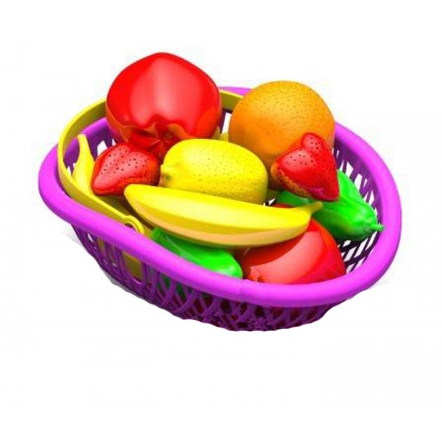 Набор фрукты в лукошке Нордпласт Р45498
