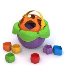 Логическая игрушка ведро цветочек Нордпласт 790