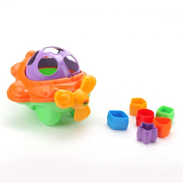 Дидактическая игрушка сортер самолет Нордпласт Р73263