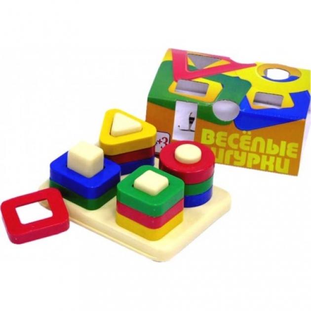 Дидактическая игра веселые фигурки Нордпласт Р27595
