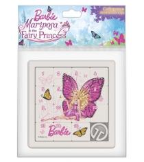 Игра собирашки барби бабочка розовая Нордпласт 847