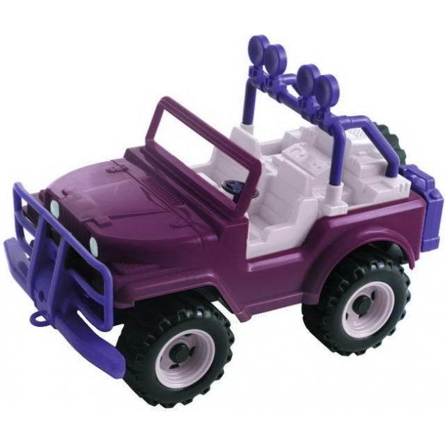 Игрушечный джип сафари хамелеон фиолетовый Нордпласт Р44939