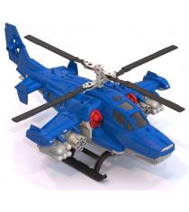 Пластиковый вертолет полиция 40 см Нордпласт Р71414
