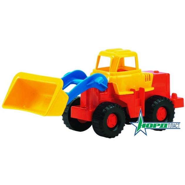 Игрушечный трактор медвежонок Нордпласт Р27695