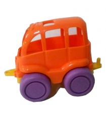 Игрушечный автобус нордик оранжево фиолетовый Нордпласт Р45403