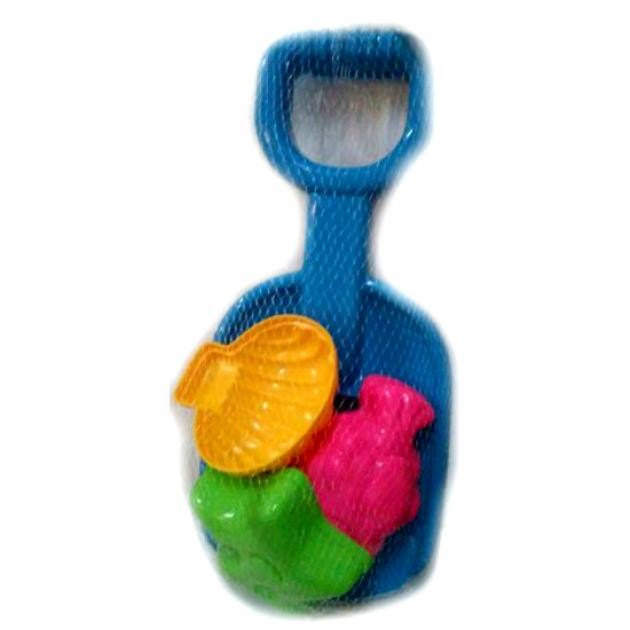 Набор для игры в песочнице 31 с синей лопаткой Нордпласт Р22588