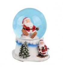 Шар декоративный дед мороз 10 см Новогодняя сказка 973187
