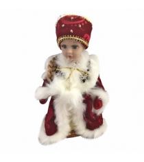 Кукла музыкальная снегурочка в красном 30 см Новогодняя сказка 973528