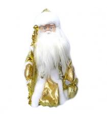 Кукла музыкальная дед мороз 30 см Новогодняя сказка 973523